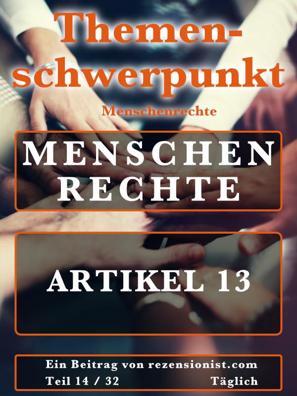 Artikel 13 Zusammengefasst